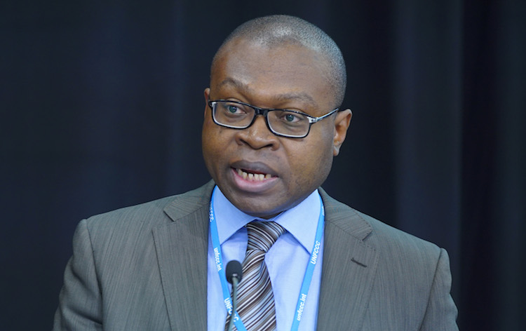 Photo: Viwanou Gnassounou, Assistant Secretary General of the ACP Group. Credit: IISD