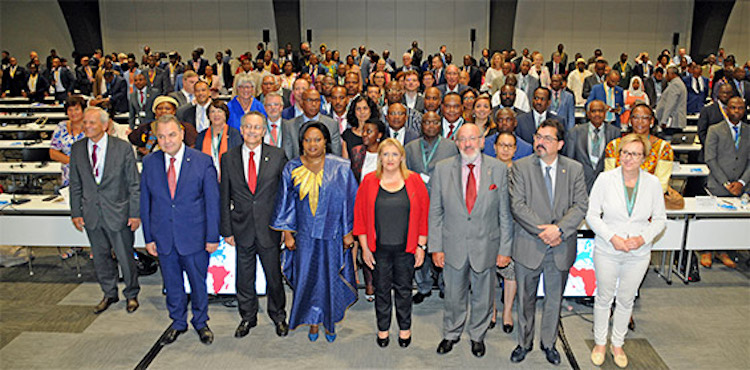 Photo: Participants at the opening of the 33rd session of the ACP-EU Joint Parliamentary Assembly in St.Julian's, Malta. Credit: ACP