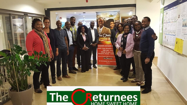 Photo: Returnees pose for the press at the Cameroon Diaspora Forum organised by the Cameroon government from June 26 to 30. Credit:  Ngala Killian Chimtom | IDN-INPS