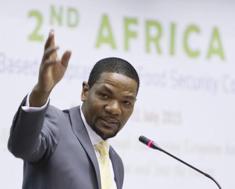 Photo: Dr Richard Munang, Africa Climate Change and Development Policy expert with the UN Environment Programme (UNEP). Credit: Ngala Killian Chimtom